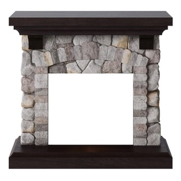 Tagu Reino Electric Fireplace - Rock Grey Mantel Only No Plug