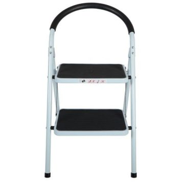 Tool Tech 2 Step Folding Ladder with Rubber Grip