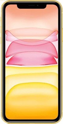 Apple iPhone 11 (64GB Yellow) at £69.00 on Red (24 Month(s) contract) with UNLIMITED mins; UNLIMITED texts; 2000MB of 4G data. £46.00 a month.