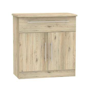 Colby Sideboard Brown 2 Door 1 Drawer