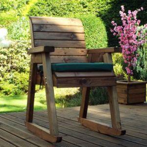 Garden Chair Rocker Scandinavian Redwood