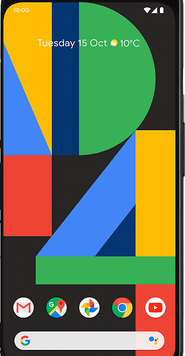 Google Pixel 4 (64GB Clearly White) at £29.00 on Red (24 Month(s) contract) with UNLIMITED mins; UNLIMITED texts; 48000MB of 5G data. £39.00 a month.