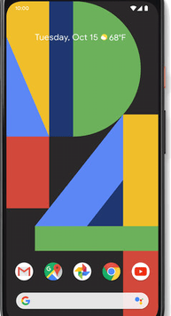 Google Pixel 4 XL (64GB Clearly White) at £19.00 on Red (24 Month(s) contract) with UNLIMITED mins; UNLIMITED texts; 24000MB of 5G data. £47.00 a month.