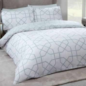 Hamilton McBride Milan Single Duvet Cover Grey