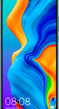Huawei P30 Lite 2020 Dual SIM (256GB Peacock Blue) at £29.00 on Red with Entertainment (24 Month(s) contract) with UNLIMITED mins; UNLIMITED texts; 6000MB of 5G data. £33.00 a month.