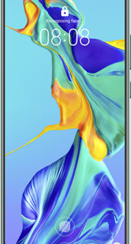 Huawei P30 Pro (128GB Aurora Blue Used Grade A) at £19.00 on Red (24 Month(s) contract) with UNLIMITED mins; UNLIMITED texts; 24000MB of 5G data. £43.00 a month.