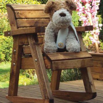 Little Fella's Garden Chair Rocker Scandinavian Redwood
