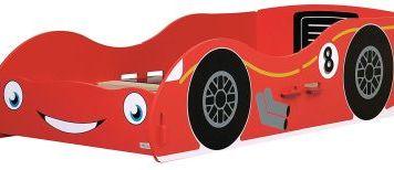 Racing Car Toddler Bed Red