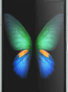 Samsung Galaxy Fold 5G (512GB Space Silver) at £629.00 on Red (24 Month(s) contract) with UNLIMITED mins; UNLIMITED texts; 6000MB of 5G data. £82.00 a month.