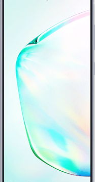 Samsung Galaxy Note10 (256GB Aura Glow Used Grade A) at £29.00 on Red (24 Month(s) contract) with UNLIMITED mins; UNLIMITED texts; 24000MB of 5G data. £59.00 a month.