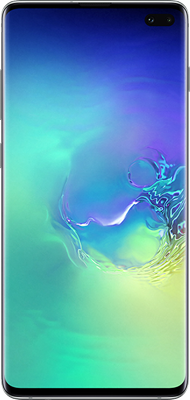 Samsung Galaxy S10 Plus (128GB Prism Green) at £49.00 on Red (24 Month(s) contract) with UNLIMITED mins; UNLIMITED texts; 6000MB of 5G data. £54.00 a month.
