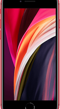 Apple iPhone SE (2020) (128GB (PRODUCT) RED) at £49.00 on Red with Entertainment (24 Month(s) contract) with UNLIMITED mins; UNLIMITED texts; 6000MB of 5G data. £45.00 a month.