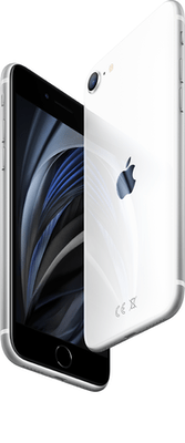 Apple iPhone SE (2020) (64GB White) at £9.00 on Unlimited (24 Month(s) contract) with UNLIMITED mins; UNLIMITED texts; UNLIMITEDMB of 5G data. £46.00 a month.