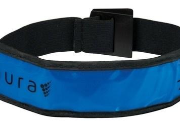 Aura LED Running Armband with Brand Bucket - Blue