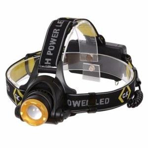 C.K Tools Rechargable 200 Lumen Bright IP64 Rated Large LED Head Lamp Torch Flashlight