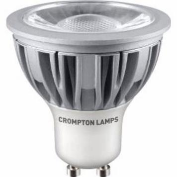 Crompton 5W LED COB GU10 Dimmable Bulb - Daylight