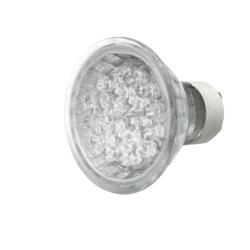 KnightsBridge 1W LED GU10 Bulb - White