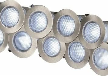 KnightsBridge 230V IP65 10 x 0.2w Cool White LED Kit 6000K