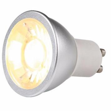 KnightsBridge 7W LED COB GU10 Dimmable Bulb - Cool White