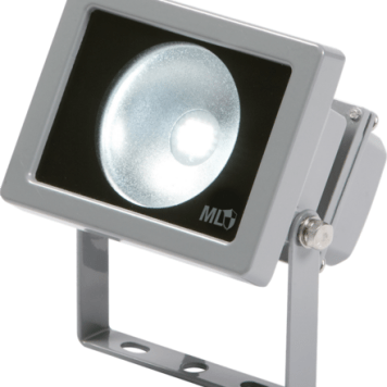 KnightsBridge IP65 Adjustable Low Energy LED Security FloodLight Grey Aluminium. - 30 Watt