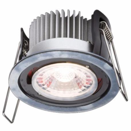 KnightsBridge ProKnight Fixed 8W IP65 LED Downlight With No Bezel - Cool White