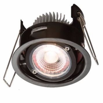 KnightsBridge ProKnight Tilted 8W IP65 LED Downlight With No Bezel - Cool White