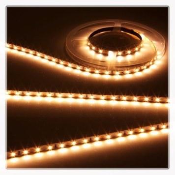 KnightsBridge Warm White 12V LED IP67 Flexible Outdoor Rope Lighting Strip - 5 Meter