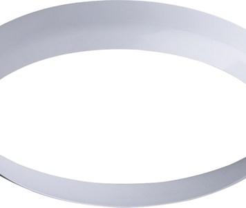 KnightsBridge White Bezel for 24W LED Bulkhead 400mm
