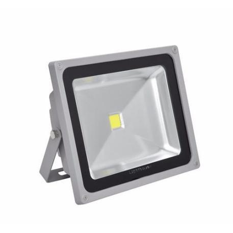 Lighthouse IP65 Ultra Efficient LED Grey Aluminium Floodlight - 30 Watt