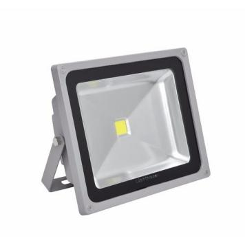 Lighthouse IP65 Ultra Efficient LED Grey Aluminium Floodlight - 50 Watt