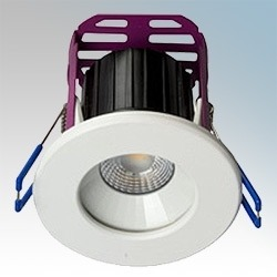 Robus Ramada 8.5W LED Fire Rated Downlight - 4000K, Dimmable