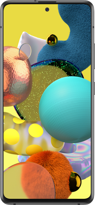 Samsung Galaxy A51 5G (128GB Black) at £9.00 on Unlimited (24 Month(s) contract) with UNLIMITED mins; UNLIMITED texts; UNLIMITEDMB of 5G data. £54.00 a month.