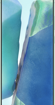 Samsung Galaxy Note20 5G (256GB Mystic Green) at £29.00 on Red with Entertainment (24 Month(s) contract) with UNLIMITED mins; UNLIMITED texts; 24000MB of 5G data. £66.00 a month.