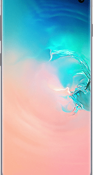 Samsung Galaxy S10 (128GB Prism White) at £9.00 on Unlimited (24 Month(s) contract) with UNLIMITED mins; UNLIMITED texts; UNLIMITEDMB of 5G data. £46.00 a month.