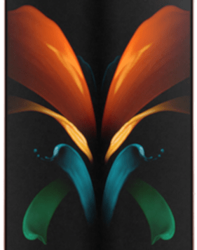 Samsung Galaxy Z Fold2 5G (256GB Mystic Bronze) at £399.00 on Unlimited with Entertainment (24 Month(s) contract) with UNLIMITED mins; UNLIMITED texts; UNLIMITEDMB of 5G data. £101.00 a month.