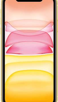 Apple iPhone 11 (64GB Yellow Used Grade A) at £49.00 on Red (24 Month(s) contract) with UNLIMITED mins; UNLIMITED texts; 24000MB of 5G data. £47.00 a month.