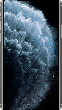 Apple iPhone 11 Pro (256GB Silver Used Grade A) at £49.00 on Red with Entertainment (24 Month(s) contract) with UNLIMITED mins; UNLIMITED texts; 48000MB of 5G data. £69.00 a month.
