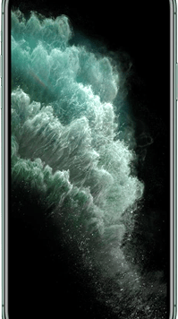 Apple iPhone 11 Pro Max (256GB Midnight Green) at £59.00 on Red (24 Month(s) contract) with UNLIMITED mins; UNLIMITED texts; 6000MB of 5G data. £76.00 a month.
