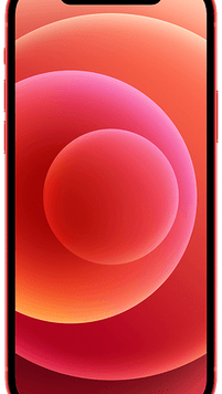 Apple iPhone 12 5G (64GB Red) at £49.00 on Red (24 Month(s) contract) with UNLIMITED mins; UNLIMITED texts; 24000MB of 5G data. £59.00 a month.
