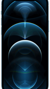 Apple iPhone 12 Pro 5G (128GB Pacific Blue) at £49.00 on Red with Entertainment (24 Month(s) contract) with UNLIMITED mins; UNLIMITED texts; 24000MB of 5G data. £78.00 a month.