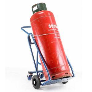 Barton Storage Barton 47kg Propane Cylinder Trolley with Rear Wheels