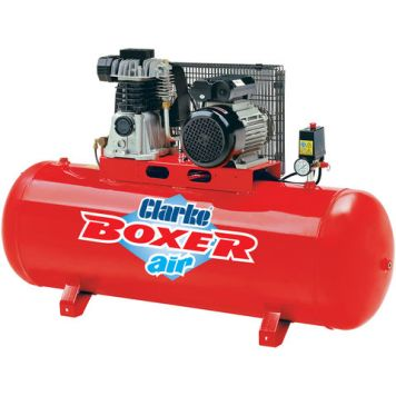 Clarke Clarke Boxer 14/150 O/L 14cfm 150Litre 3HP Belt Driven Air Compressor (230V)