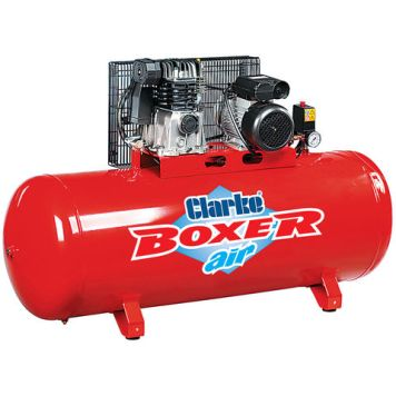 Clarke Clarke Boxer 14/200 O/L 14cfm 200Litre 3HP Belt Driven Air Compressor (230V)