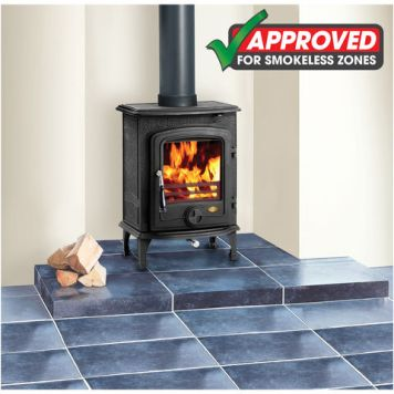 Clarke Clarke Chesterford Eco-Design Ready Multi-Fuel Cast Iron Stove