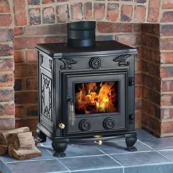 Clarke Clarke Cottager II Cast Iron Wood Burning Stove