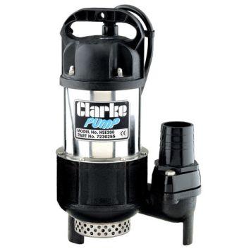 """Clarke Clarke HSE300 2"""" 720W 300Lpm 10m Head Heavy Duty Submersible Pump (230V)"""
