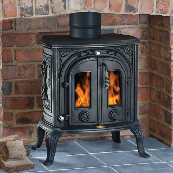 Clarke Clarke Junior Victoria II Cast Iron Wood Burning Stove