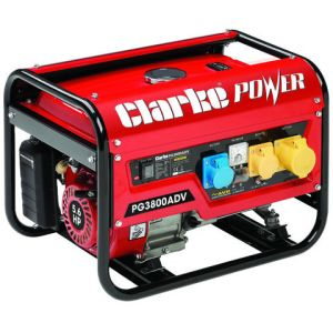 Clarke Clarke PG3800ADV EURO5 3kVA Dual Voltage (230/110V) Petrol Generator
