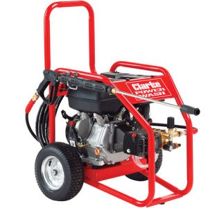 Clarke Clarke PLS265A Heavy Duty Petrol Driven Pressure Washer 3260psi