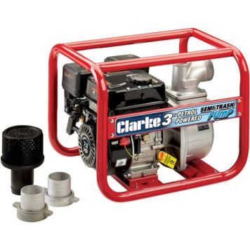 "Clarke Clarke PS75A Petrol Powered 3"" Semi-Trash Water Pump"